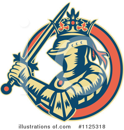 Knight Clipart #1125318 by patrimonio