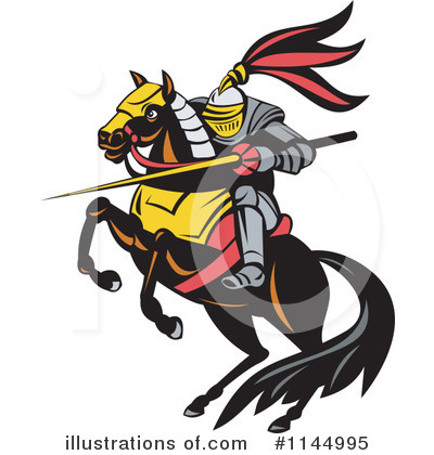 Knight Clipart #1144995 by patrimonio