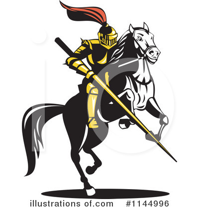 Knight Clipart #1144996 by patrimonio