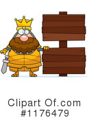 Knight Clipart #1176479 by Cory Thoman