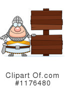 Knight Clipart #1176480 by Cory Thoman