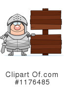Knight Clipart #1176485 by Cory Thoman