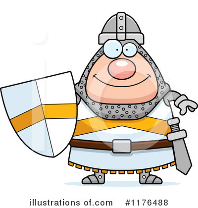 Knight Clipart #1176488 by Cory Thoman
