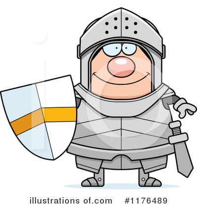 Knight Clipart #1176489 by Cory Thoman