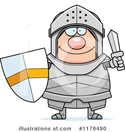 Knight Clipart #1176490 by Cory Thoman