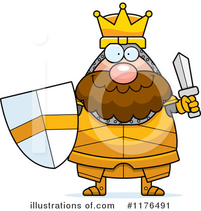 Knight Clipart #1176491 by Cory Thoman