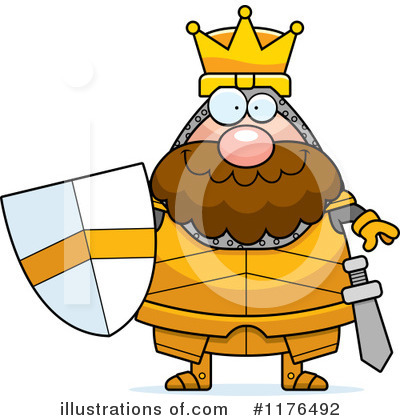 Knight Clipart #1176492 by Cory Thoman