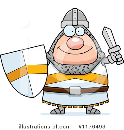 Knight Clipart #1176493 by Cory Thoman