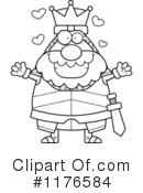 Knight Clipart #1176584 by Cory Thoman