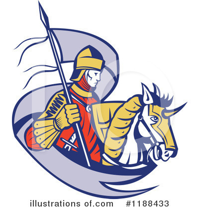 Knight Clipart #1188433 by patrimonio