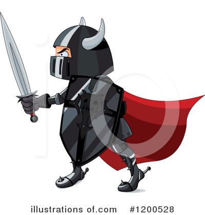 Knight Clipart #1200528 by Pushkin
