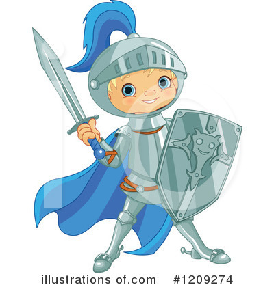 Knight Clipart #1209274 by Pushkin