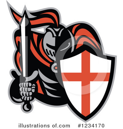 Knight Clipart #1234170 by patrimonio