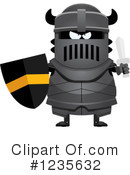 Knight Clipart #1235632 by Cory Thoman