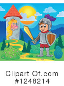 Knight Clipart #1248214 by visekart