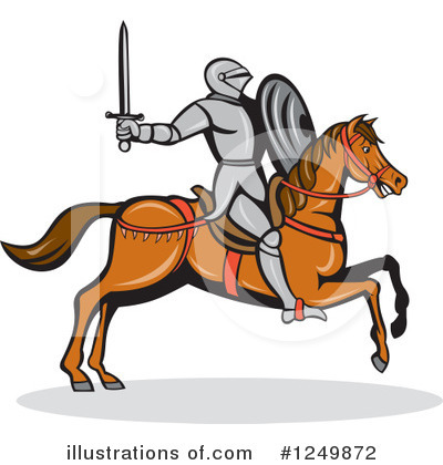 Knight Clipart #1249872 by patrimonio