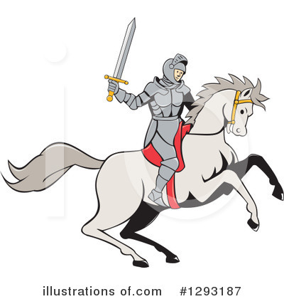 Knight Clipart #1293187 by patrimonio
