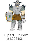 Knight Clipart #1295631 by patrimonio