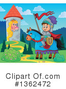 Knight Clipart #1362472 by visekart