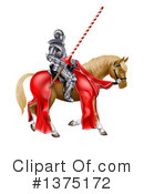 Knight Clipart #1375172 by AtStockIllustration