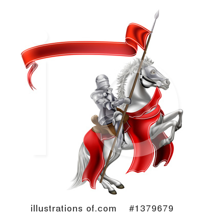 Jousting Clipart #1379679 by AtStockIllustration