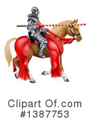 Knight Clipart #1387753 by AtStockIllustration
