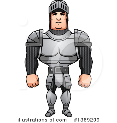 Knight Clipart #1389209 by Cory Thoman