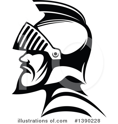Warrior Clipart #1390228 by Vector Tradition SM