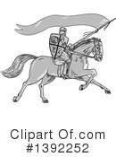 Knight Clipart #1392252 by patrimonio