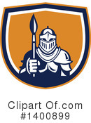 Knight Clipart #1400899 by patrimonio