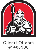 Knight Clipart #1400900 by patrimonio