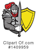 Royalty-Free (RF) Knight Clipart Illustration #1409959