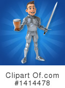 Knight Clipart #1414478 by Julos