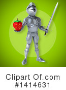 Knight Clipart #1414631 by Julos