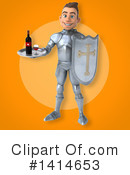 Knight Clipart #1414653 by Julos