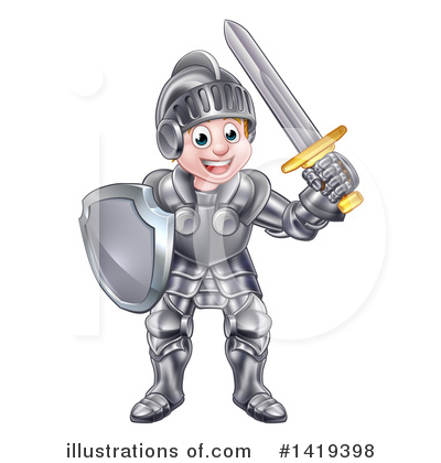 Warrior Clipart #1419398 by AtStockIllustration