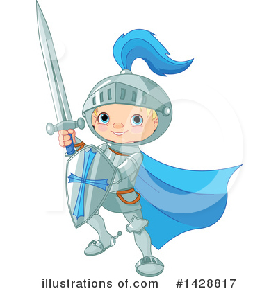 Knight Clipart #1428817 by Pushkin