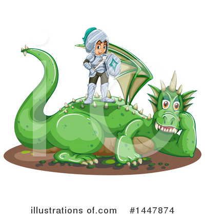 Dragon Clipart #1447874 by Graphics RF
