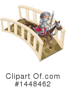 Knight Clipart #1448462 by Graphics RF