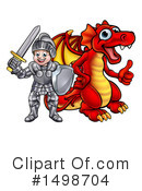 Knight Clipart #1498704 by AtStockIllustration