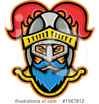 Royalty-Free (RF) Knight Clipart Illustration by patrimonio - Stock Sample #1567812
