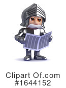 Knight Clipart #1644152 by Steve Young