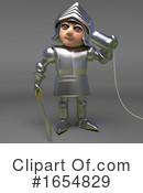 Knight Clipart #1654829 by Steve Young