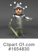 Knight Clipart #1654830 by Steve Young