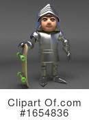 Knight Clipart #1654836 by Steve Young