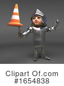 Knight Clipart #1654838 by Steve Young