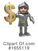 Knight Clipart #1655119 by Steve Young