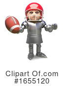 Knight Clipart #1655120 by Steve Young
