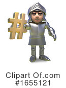 Knight Clipart #1655121 by Steve Young