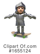 Knight Clipart #1655124 by Steve Young